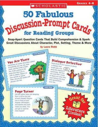 Discussion-Prompt Cards for Reading Groups